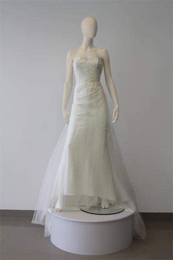 Vestido de Novia ANC343 linea a de encaje
