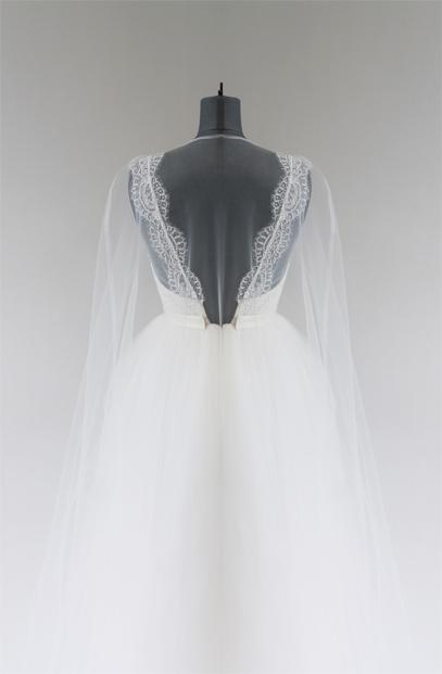 Vestido de Novia Belie encaje en espalda
