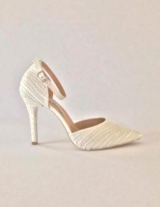 Zapatos de novia Marion disponibles en Atelier Nupcial